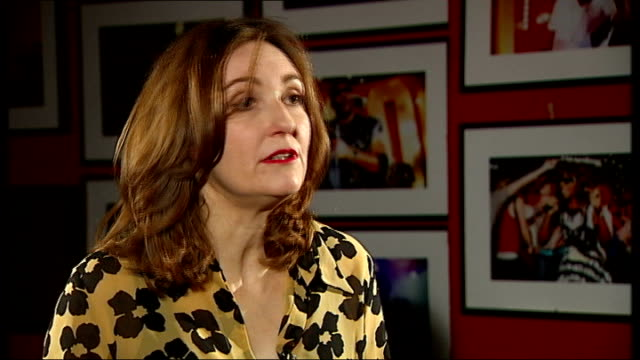 stockvideo's en b-roll-footage met viv albertine of 'the slits' launches autobiography albertine interview continues sot - autobiografie