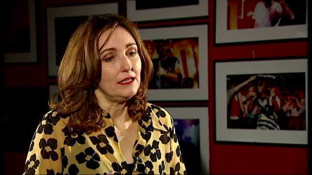 viv albertine of 'the slits' launches autobiography; albertine interview continues sot - sid vicious and johnny rotten are rounded people in my book - biografia video stock e b–roll