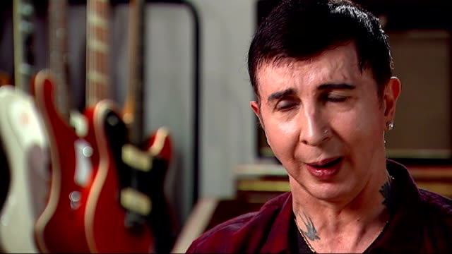 vídeos de stock, filmes e b-roll de marc almond new album almond interview sot now i'm at my best vocally creatively but never know how long that's going to last - título de álbum
