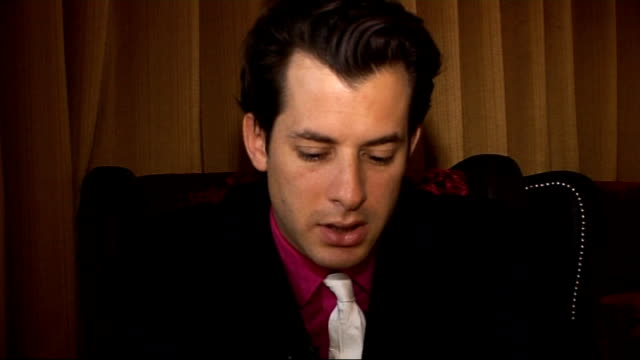 mark ronson interview mark ronson interview sot on collaborations on the album qtip boy george nick rhodes / the first single 'bang bang bang'... - nick rhodes stock videos & royalty-free footage