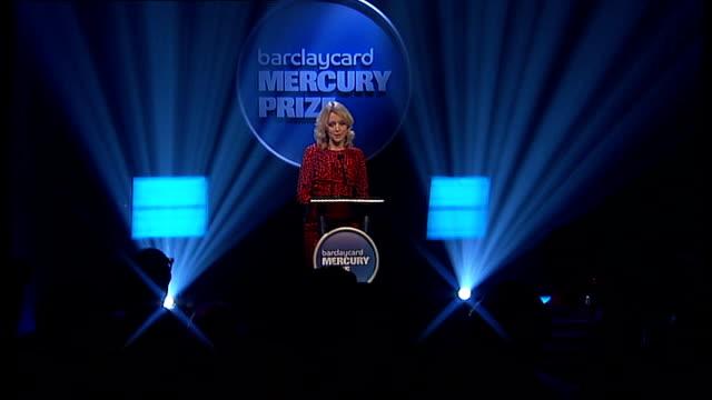 Mercury Music Prize 2011 nominations announcement and performances Lauren Laverne announces next four nominated acts SOT Metronomy PJ Harvey Gwilym...