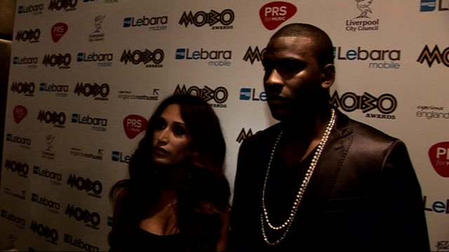 mobo nominations announced interviews preeya kalidas and skepta interview sot talks of working together and the music they have made / music industry... - イーストエンダーズ点の映像素材/bロール