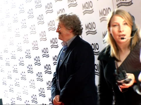 Mojo Awards 2007 ceremony celebrity photocalls / interviews ENGLAND East London THROUGHOUT *** Steve Wold posing for photocall on arrival at Mojo...