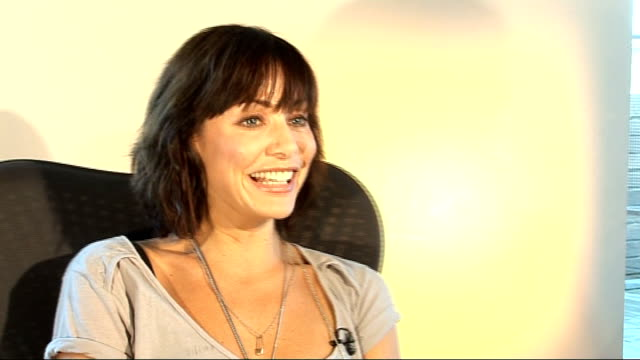 Natalie Imbruglia interview Natalie Imbruglia interview continues SOT On Peter Andre being a showbiz reporter / looking back on her appearances in...