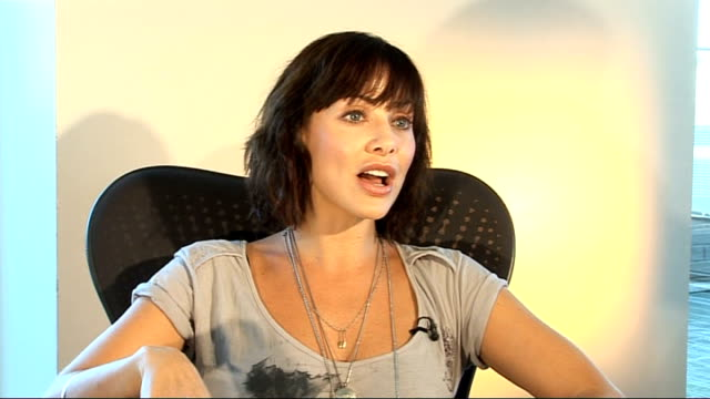 Natalie Imbruglia interview Natalie Imbruglia interview continues SOT On working at Brian Eno's house / the online single 'Wild About It' music video...