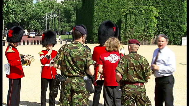 Coldtream Guards in Horseguards Parade