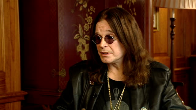 Ozzy Osbourne interview Ozzy Osbourne interview SOT On staying creative / getting loaded wasn't fun anymore / likes Lady Gaga / used to live next...