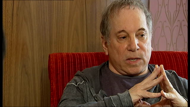Paul Simon interview Paul Simon interview SOT On whether there will be a Simon Garfunkel reunion tour soon no Art hasn't been able to sing for a year...
