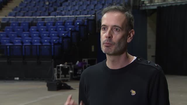 pete tong rehearsing for live-stream christmas eve rave; england: london: the o2: int steve sayer interview sot - live broadcast stock videos & royalty-free footage