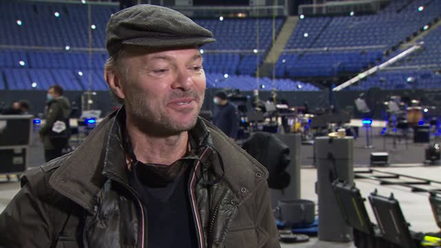 pete tong rehearsing for live-stream christmas eve rave; england: london: the o2: int pete tong interview sot - live broadcast stock videos & royalty-free footage