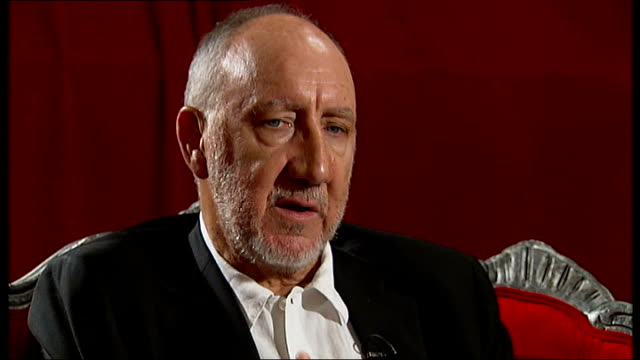 Pete Townshend interview Townshend interview SOT This is the one where I've put the most energy into the detail trying to come up with stuff that the...