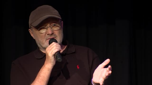 phil collins qa with jools holland phil collins question and answer session sot - phil collins stock videos & royalty-free footage