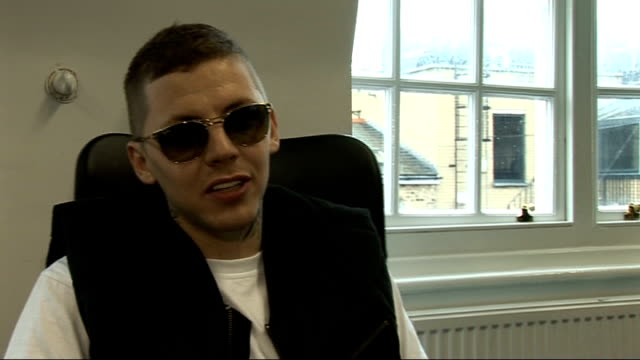 professor green interview; professor green interview sot - on his new single 'monster' / jibes in the song / his album 'alive till i'm dead' /... - the x factor stock videos & royalty-free footage