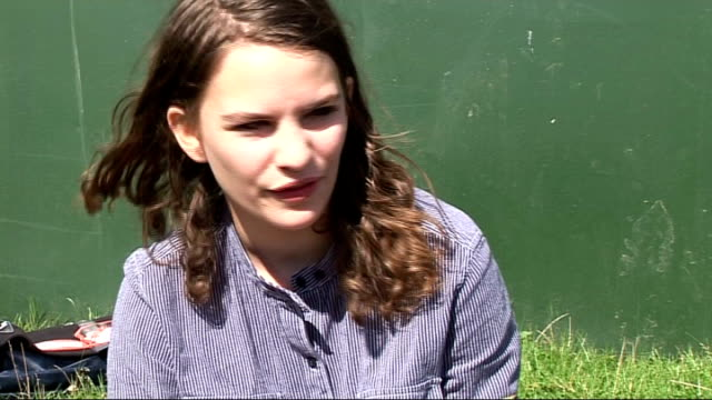 reading festival 2010 interviews coco sumner interview sot on her time at reading it's her first time / is a festival fan / says she's heard it's a... - reading and leeds festivals stock videos and b-roll footage