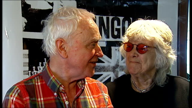"""""""ready steady go"""" programme makes a comeback; int nicholas ferguson and vicki wickham interview sot - was one artist who forgot to appear / was... - lulu singer stock videos & royalty-free footage"""