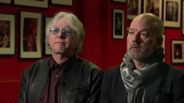 REM interview ENGLAND London INT Mike Mills and Michael Stipe interview SOT rerelease of album 'Automatic for the People'