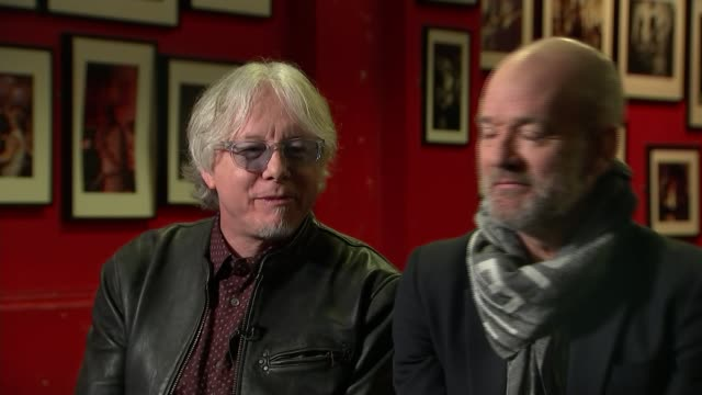 rem rerelease album 'automatic for the people' 25 years on mike mills and michael stipe interview sot - michael stipe stock videos & royalty-free footage