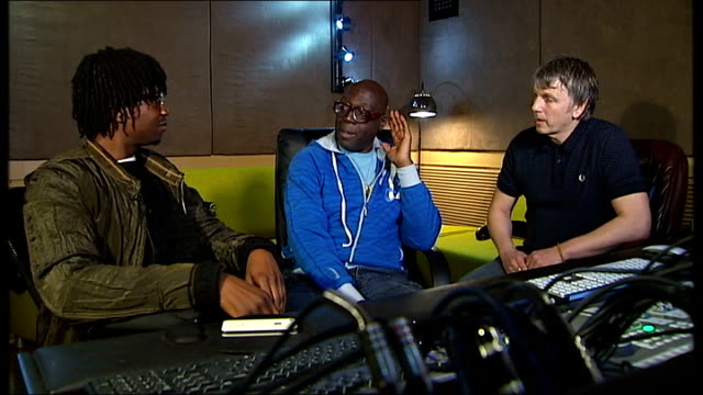Revival of House music ENGLAND Manchester Reporter sat in recording studio with Wilson and Aniff Akinola producer and writer of influential House...
