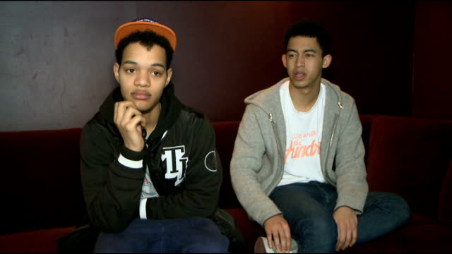 Rizzle Kicks perform for commuters at London Broadgate Rizzle Kicks interview SOT If you had to 'Kick'one of them out of the band and replace Replace...