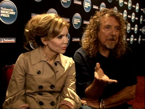 Robert Plant Alison Krauss and The Portico Quartet interviews How bounced ideas off each other On doing different styles of music Touring together is...
