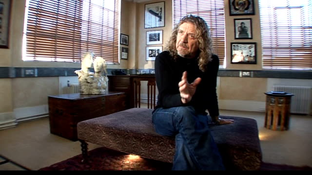 Robert Plant collaboration with Alison Krauss LOCATION Robert Plant interview SOT Challenge of working with Alison Krauss