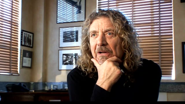 Robert Plant collaboration with Alison Krauss Plant interview SOT On Ertegun