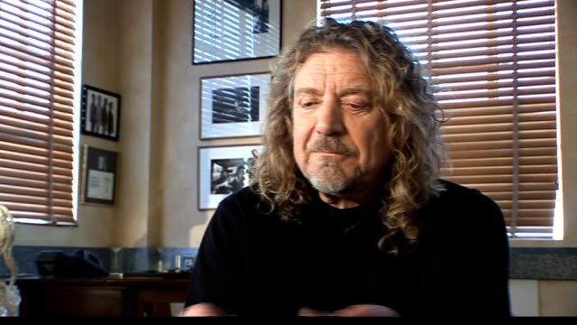 Robert Plant collaboration with Alison Krauss Plant interview SOT On starting work with TBone