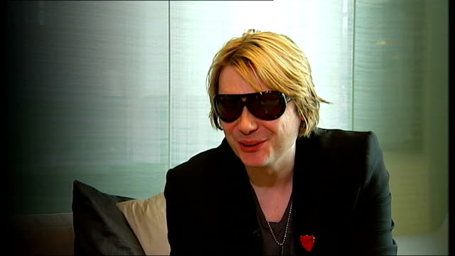 rock band manic street preachers record richey edwards unused lyrics; nicky wire interview sot - on the box-file of artwork given to him by richey - manic street preachers stock videos & royalty-free footage