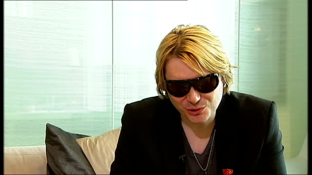 rock band manic street preachers record richey edwards unused lyrics; nicky wire interview sot - brilliant mixture of low art and high art / album is... - manic street preachers stock videos & royalty-free footage