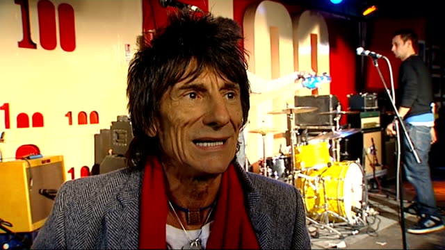 ronnie wood interview ronnie wood interview sot on the historical importance of the 100 club amp his brothers who played in blues and jazz bands /... - cheek to cheek stock videos & royalty-free footage