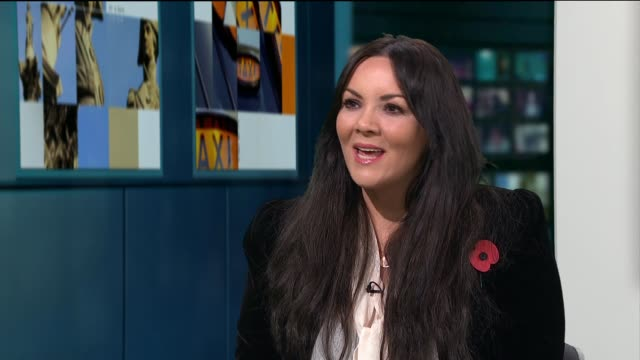 singer and actress martine mccutcheon to release new album martine mccutcheon live studio interview sot - album release stock videos and b-roll footage