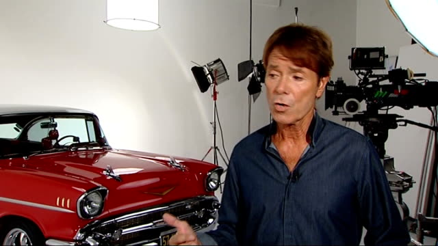 sir cliff richard celebrates one hundredth album release cliff richard interview sot on carrying on recording music - アルバムのタイトル点の映像素材/bロール