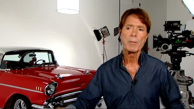 sir cliff richard celebrates one hundredth album releaseinterview sir cliff richard interview on releasing his 100th album sot - cd発売点の映像素材/bロール