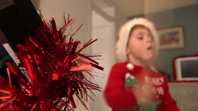 song by 5 year old from essex in running for christmas number one; england: essex: billericay: int patrick 'patch' dillon interview sot various shots... - drummer stock videos & royalty-free footage