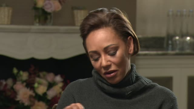 spice girl mel b interview on her autobiography england london int mel b interview sot on her autobiography 'brutally honest' / domestic abuse /... - ウェストヨークシャー点の映像素材/bロール