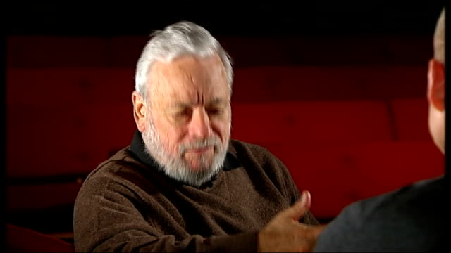 stephen sondheim interview sondheim interview sot economics is reason good new musicals aren't being made / average musical now costs $1215m / 'west... - double chance stock videos & royalty-free footage