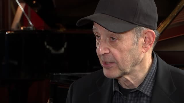Steve Reich interview Steve Reich interview SOT tremendously mixed audience in London on how his music transcends generations I don't know I just...