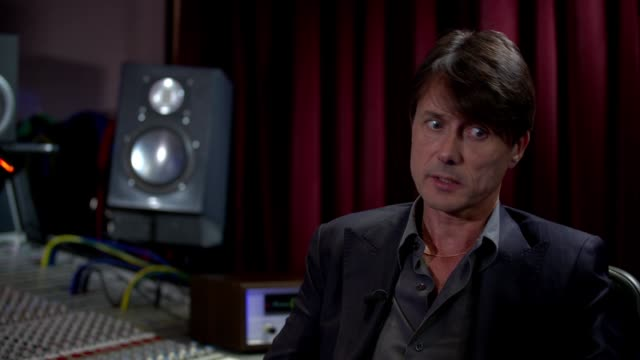 suede release eighth studio album brett anderson interview england london int brett anderson interview sot - cd発売点の映像素材/bロール