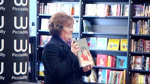 susan boyle autobiography book launch; england: london: piccadilly: ext general views of red london double decker buses away down piccadilly with... - autobiography stock videos & royalty-free footage