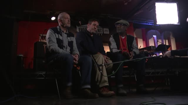 the specials take on current politics and knife crime on new album england london fitzrovia the 100 club int horace panter interview sot injustice is... - アルバムのタイトル点の映像素材/bロール