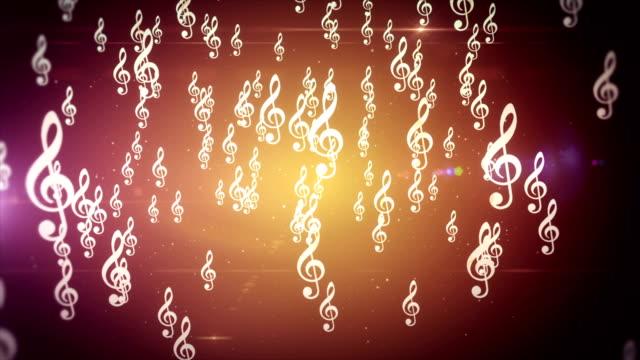 Music theme animation backdrop