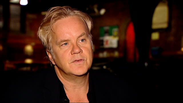 Tim Robbins performing with Rugues Gallery and interview Tim Robbins interview SOT on songwriting as therapy on people telling him their stories on...