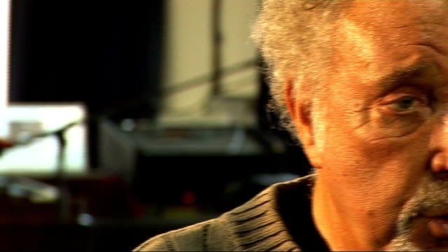 tom jones interview england london int general views and close up shots of tom jones chatting sot tom jones interview sot on nordoffrobbins music... - music therapy stock videos & royalty-free footage