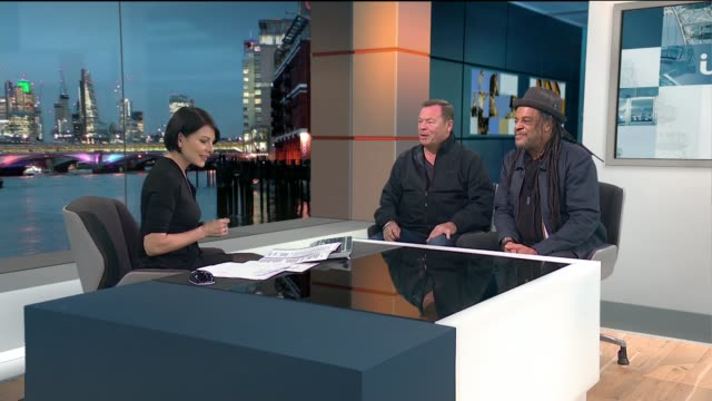 ub40 to perform at the royal albert hall ali campbell and micky virtue live studio interview sot - royal albert hall stock videos and b-roll footage