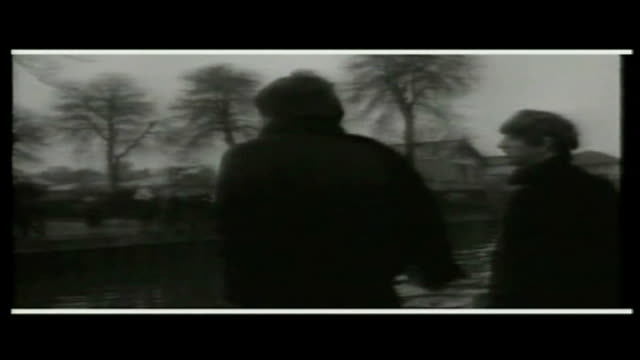 Unseen footage of the Beatles and Beach Boys released TX 2321964 Teddington Beatles on boat trip up River Thames SOT