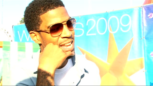 Wireless Festival 09 Day 2 interviews Kid Cudi interview SOT on the track 'Day and Night' changing his life on loving Lady GaGa on how he's getting...