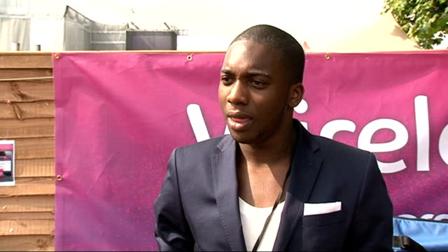 Wireless Festival 2011 celebrity interviews Loick Essien interview SOT On being at Wireless / tips for people who want to get into the music industry...