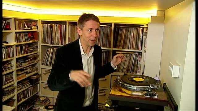 world cup 2014 gilles peterson searching for music for world cup album england north london ext exterior of 'tracks' shop and recording studio owned... - world record stock videos & royalty-free footage