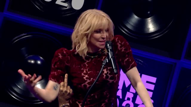 musical artists from britain and elsewhere were honoured at the annual nme awards at the brixton academy. winners included taylor swift, the 1975 and... - award stock-videos und b-roll-filmmaterial