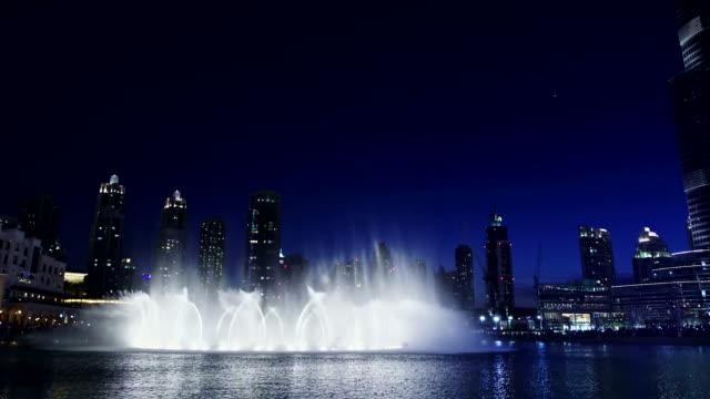 Musikalischen Springbrunnen in Dubai